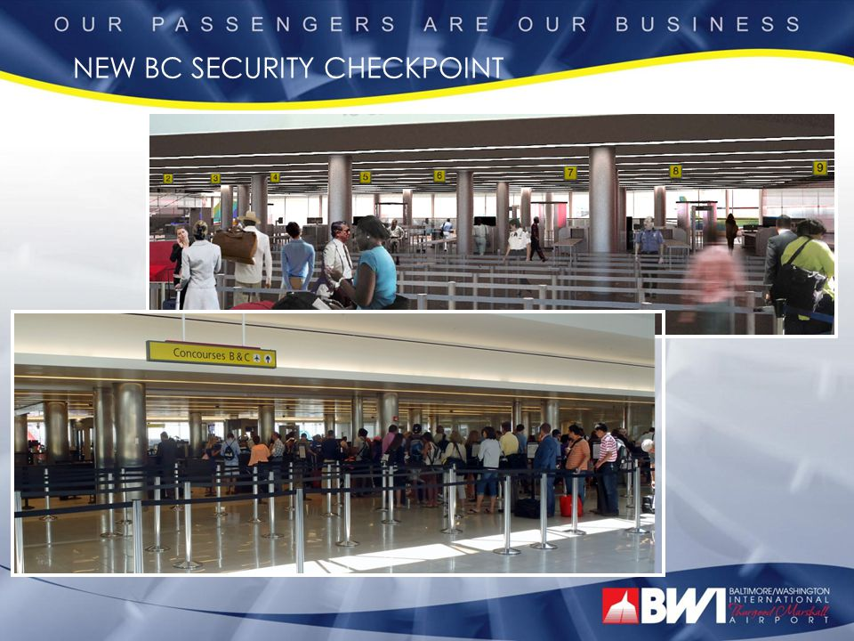 NEW BC SECURITY CHECKPOINT