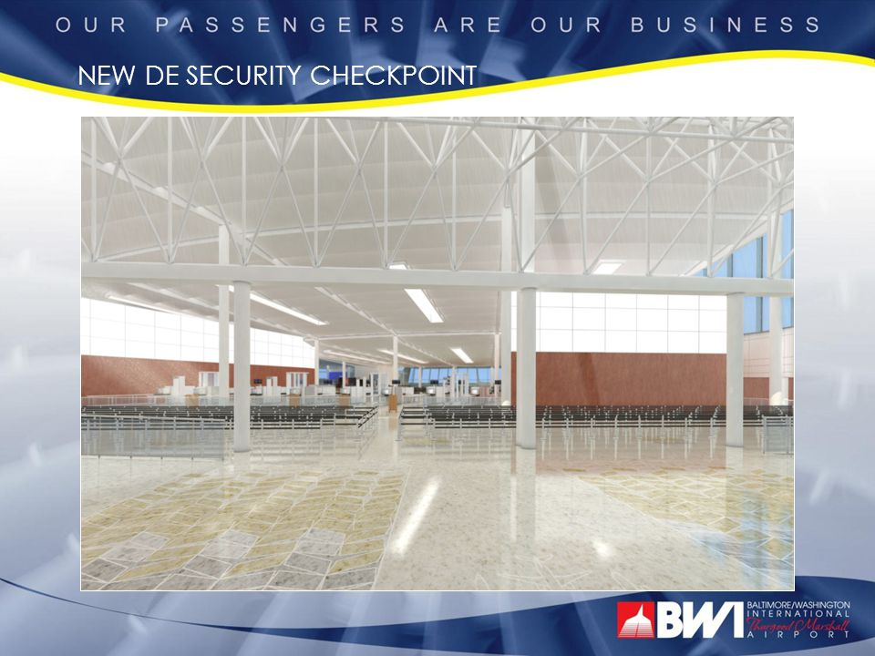 NEW DE SECURITY CHECKPOINT