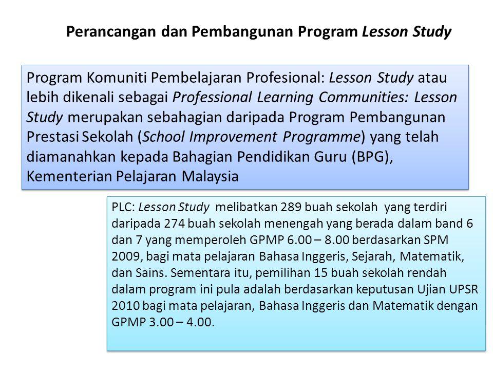 Perancangan dan Pembangunan Program Lesson Study