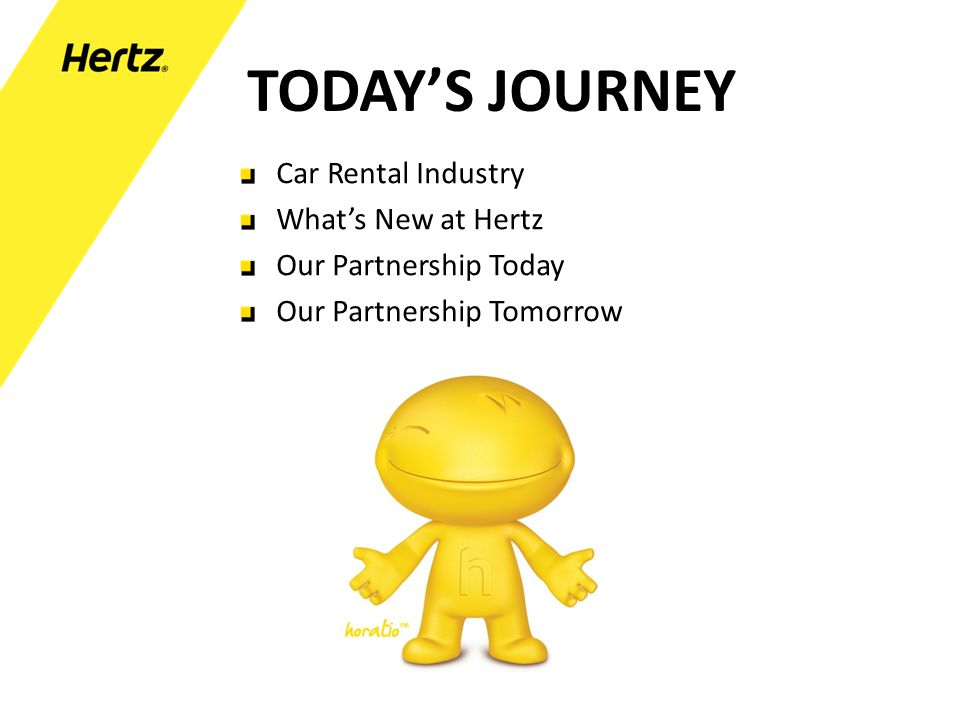 TODAY'S JOURNEY Car Rental Industry What's New at Hertz