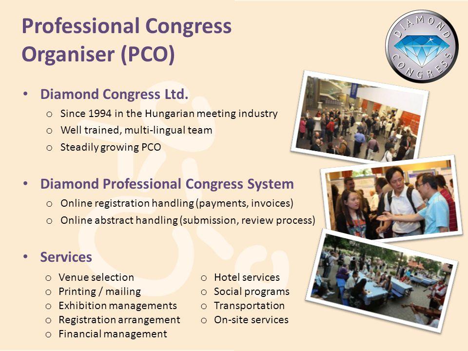 Professional Congress Organiser (PCO)