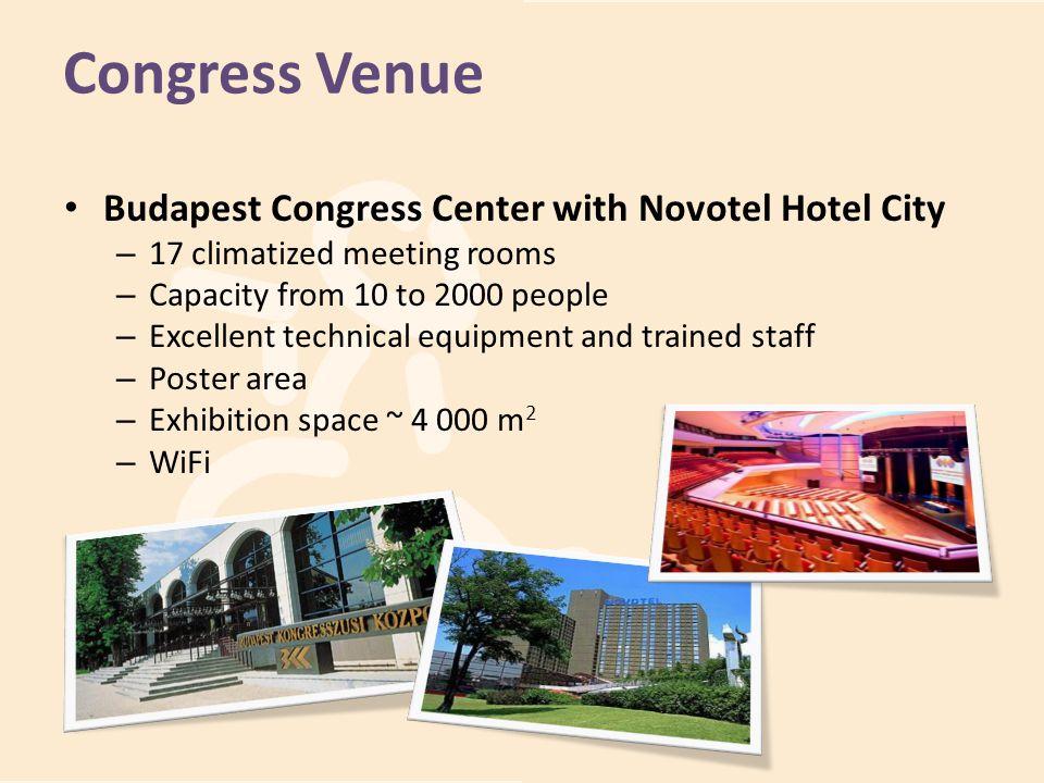 Congress Venue Budapest Congress Center with Novotel Hotel City It has