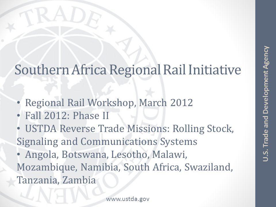 Southern Africa Regional Rail Initiative