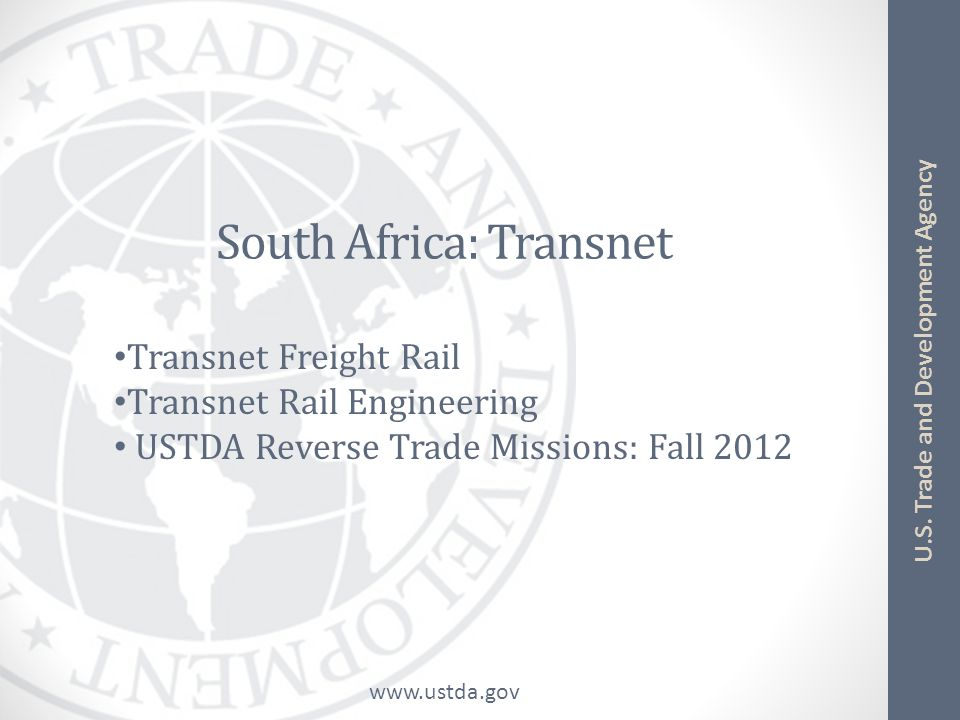 South Africa: Transnet