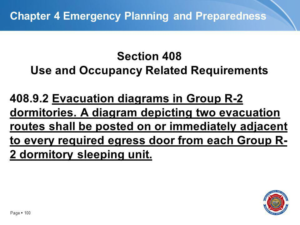 Chapter 4 Emergency Planning and Preparedness