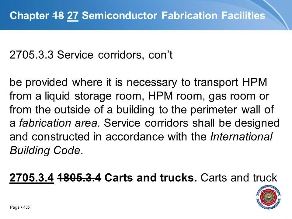 Chapter 18 27 Semiconductor Fabrication Facilities