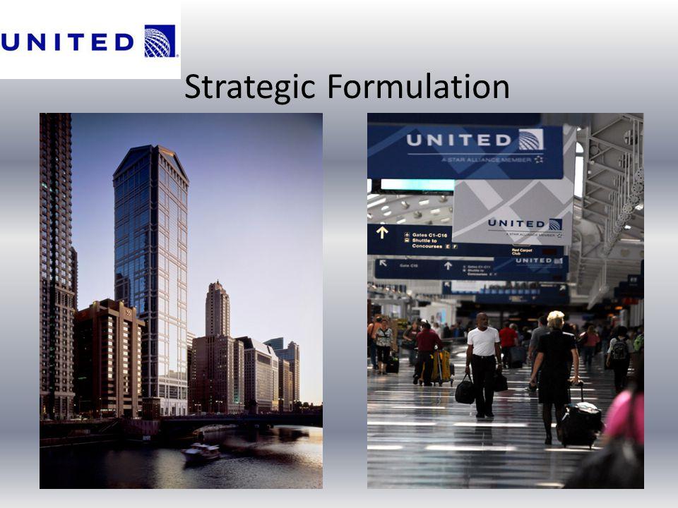 Strategic Formulation
