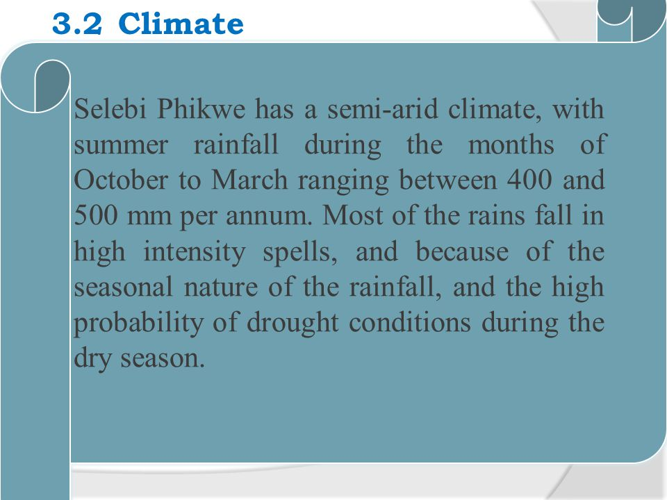 3.2 Climate