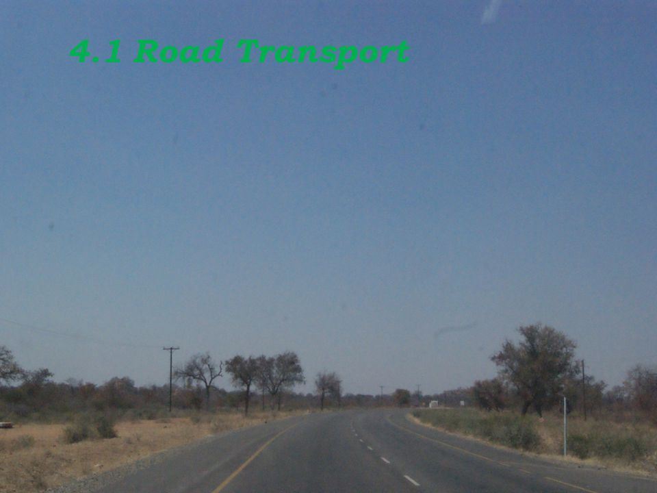 4.1 Road Transport