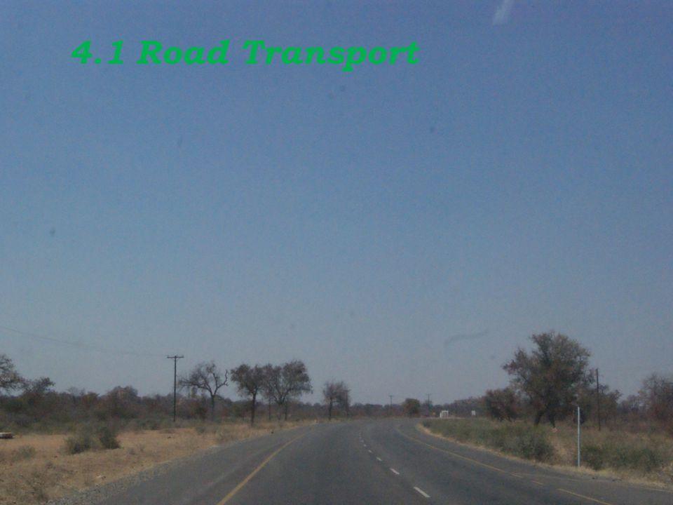 4.1 Road Transport