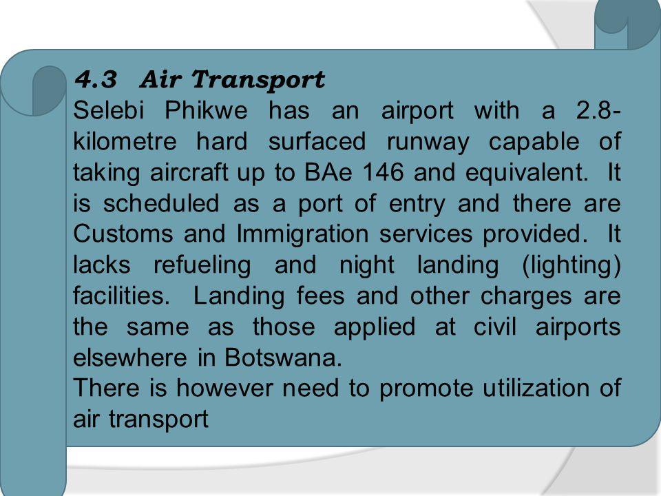 4.3 Air Transport