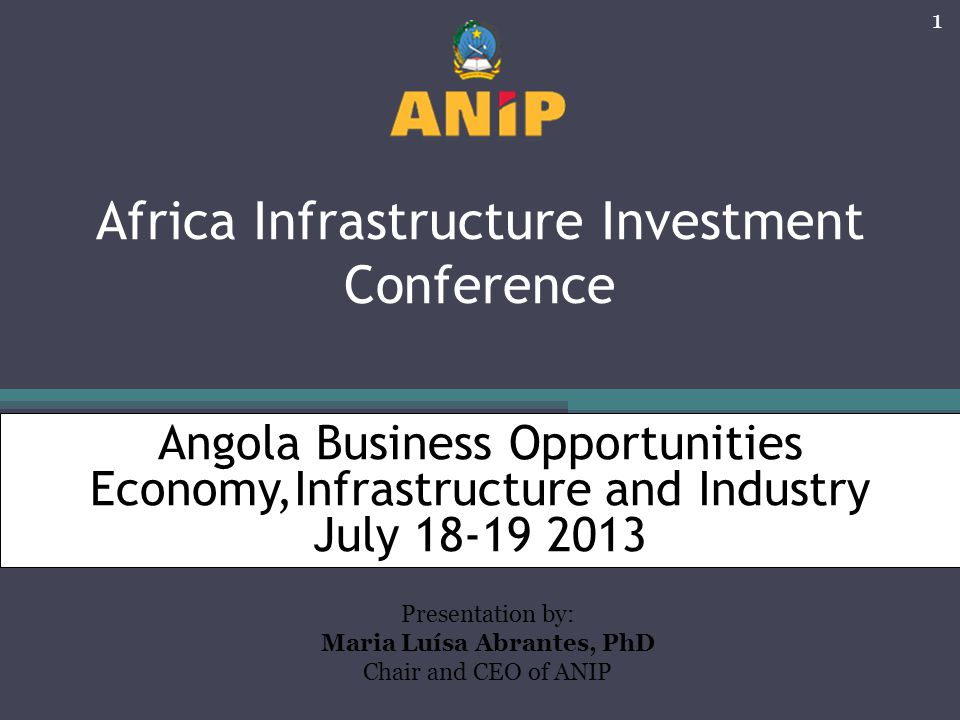 Africa Infrastructure Investment Conference