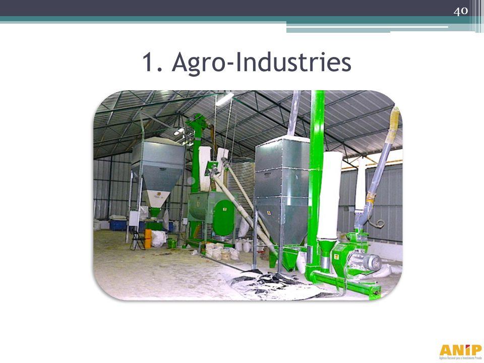 1. Agro-Industries