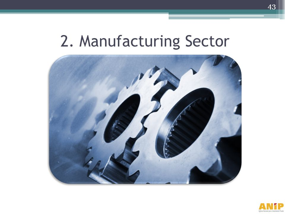 2. Manufacturing Sector
