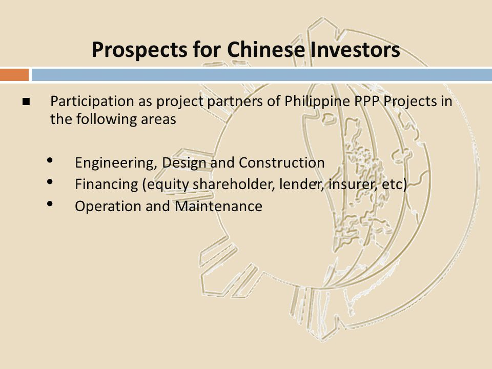 Prospects for Chinese Investors