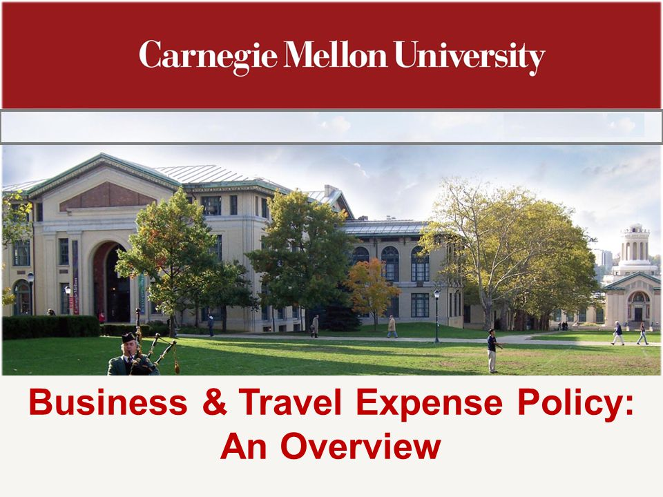Business & Travel Expense Policy: An Overview