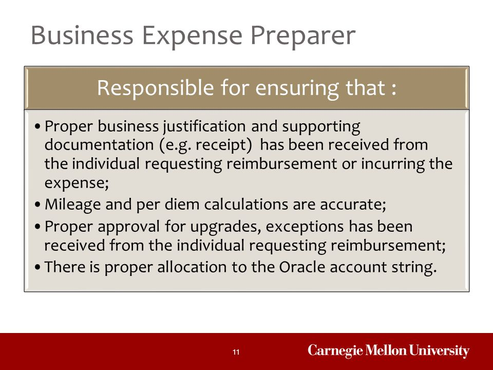 Business Expense Preparer