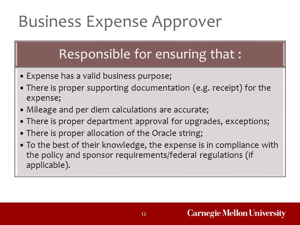Business Expense Approver