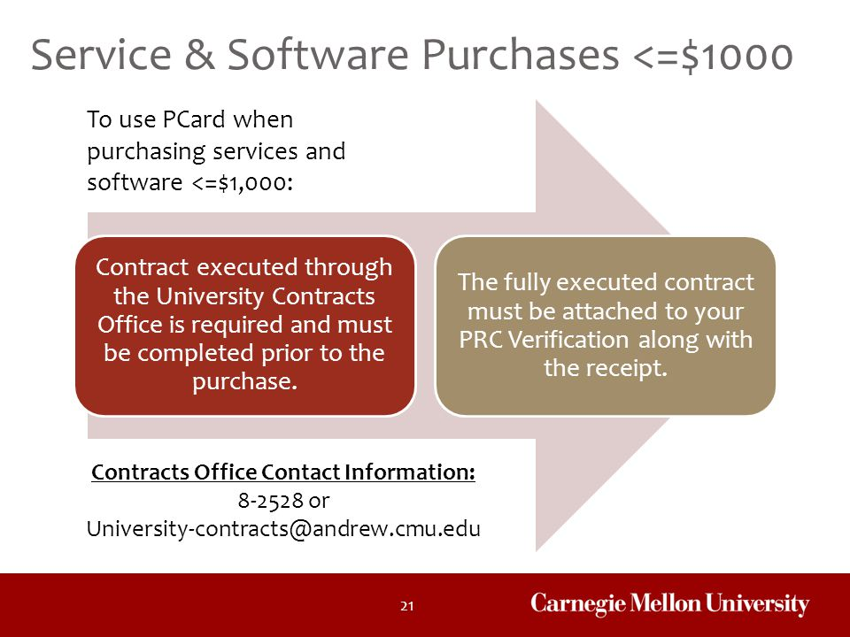 8-2528 or University-contracts@andrew.cmu.edu
