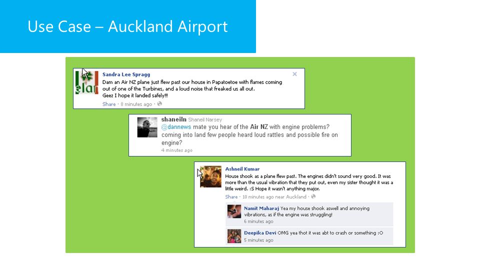 Use Case – Auckland Airport