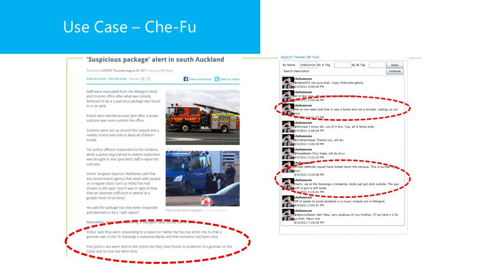 Use Case – Che-Fu