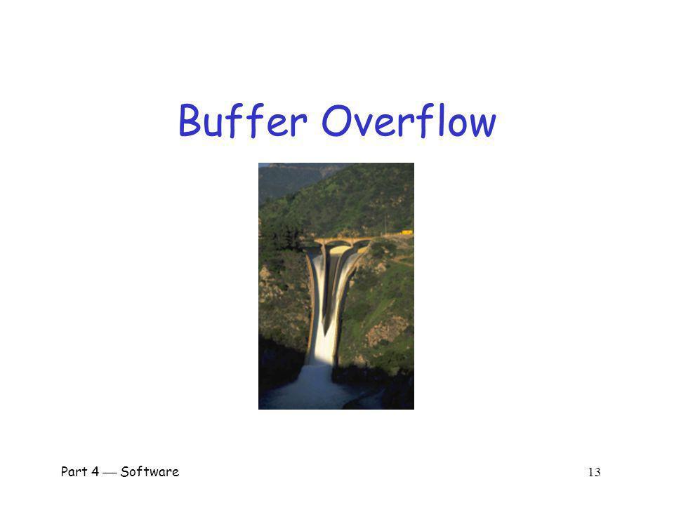 Buffer Overflow Part 4  Software 13.