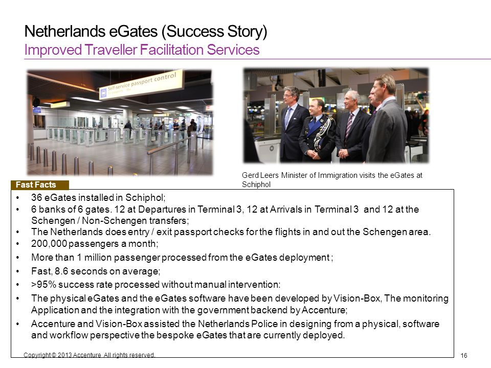 Netherlands eGates (Success Story)