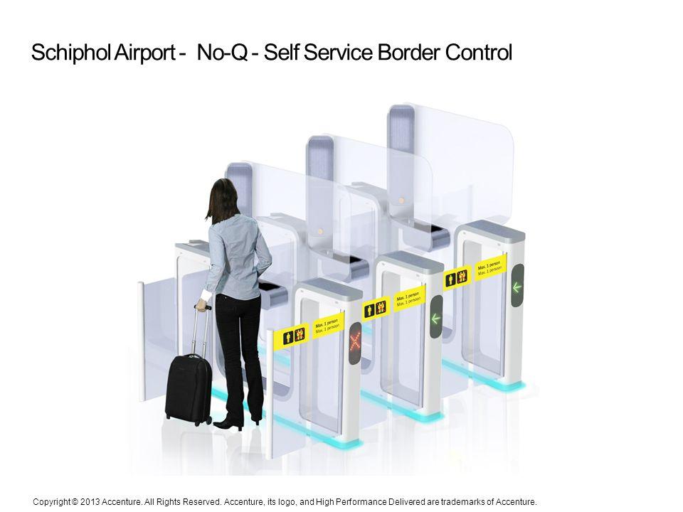 Schiphol Airport - No-Q - Self Service Border Control