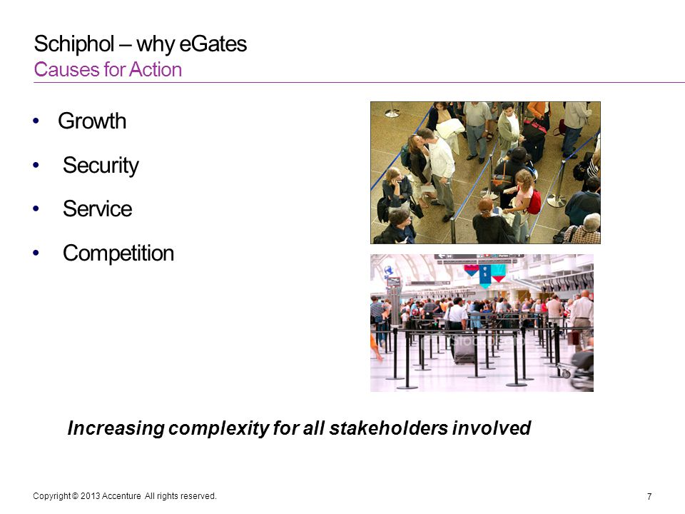 Increasing complexity for all stakeholders involved