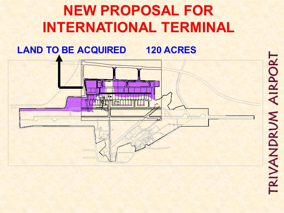 NEW PROPOSAL FOR INTERNATIONAL TERMINAL