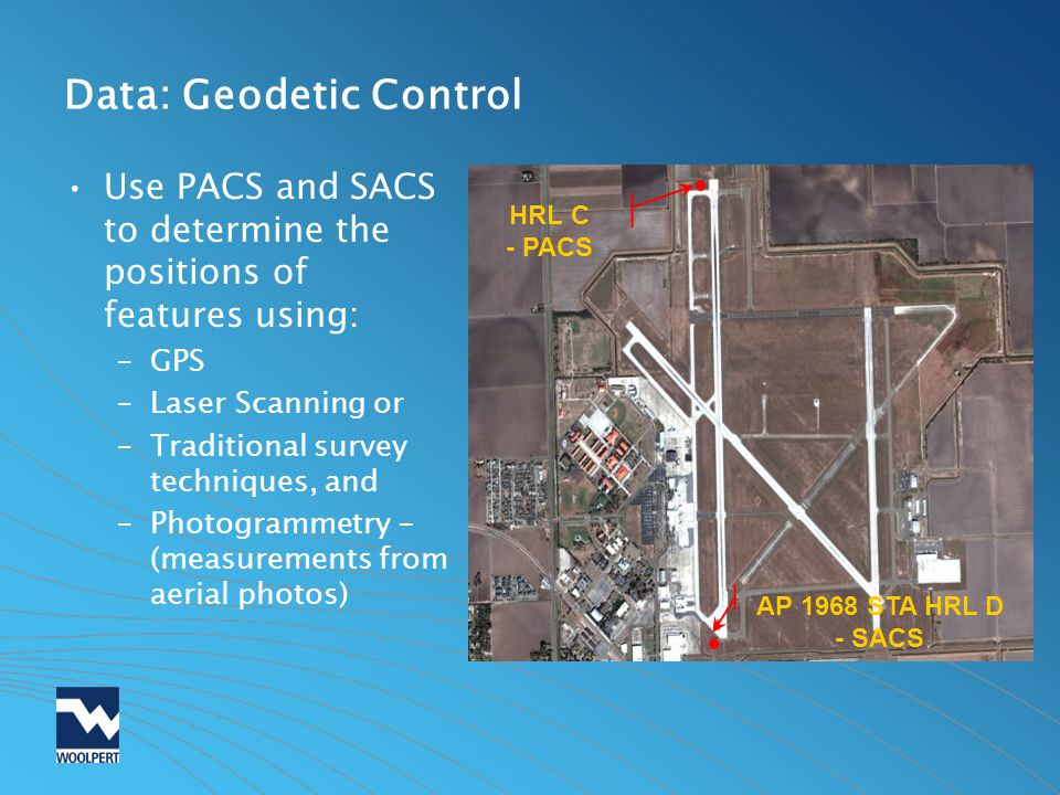 Data: Geodetic Control