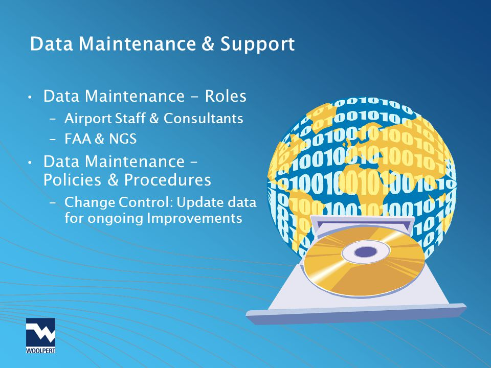 Data Maintenance & Support