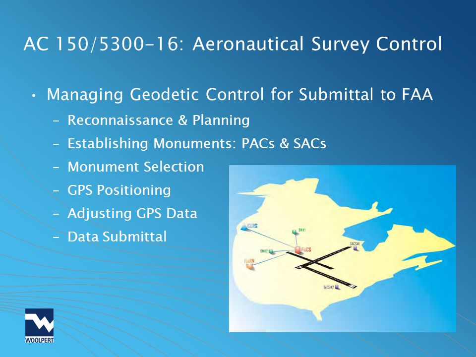 AC 150/ : Aeronautical Survey Control