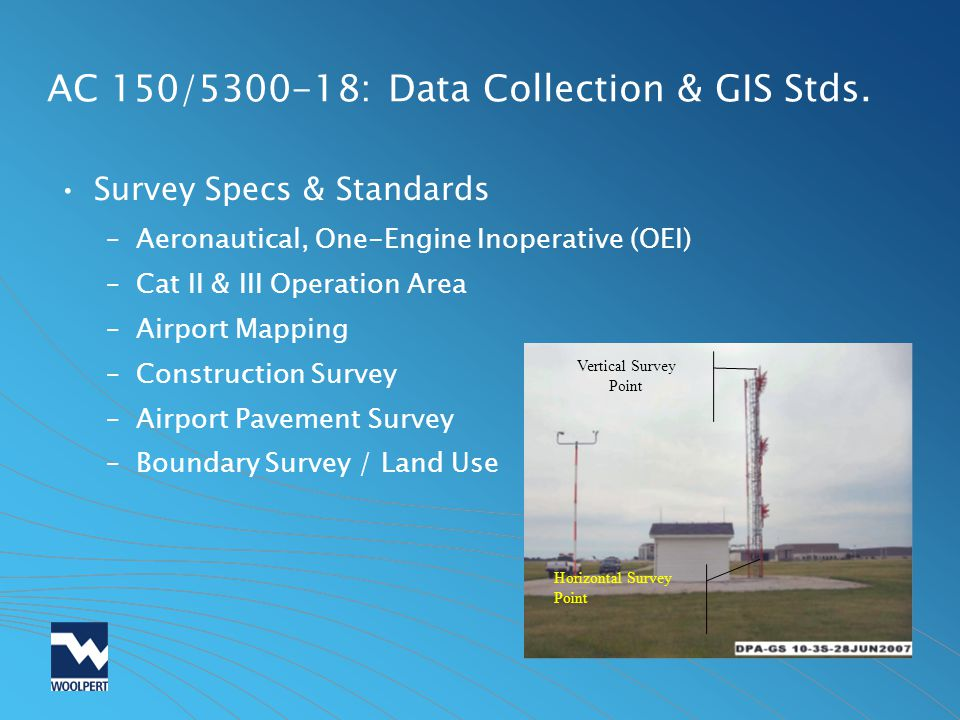 Airport gis data ealp coming to an airport near you ppt download ac 1505300 18 data collection gis stds publicscrutiny Image collections
