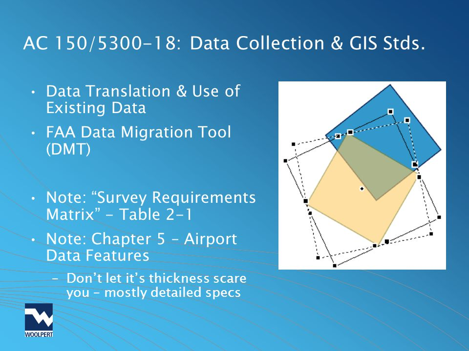 AC 150/ : Data Collection & GIS Stds.