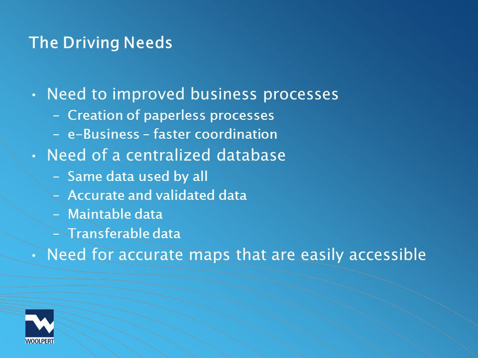 Need to improved business processes