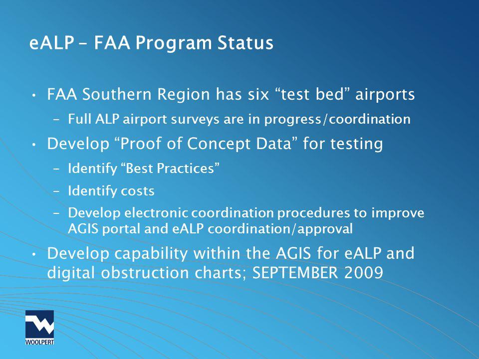 eALP – FAA Program Status