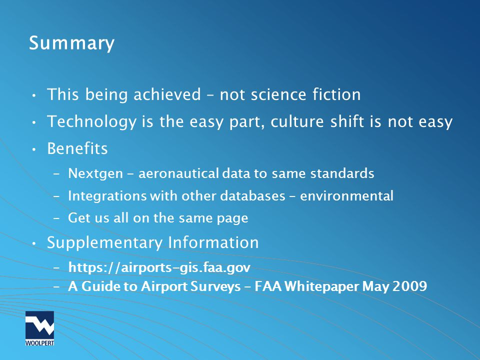 Summary This being achieved – not science fiction