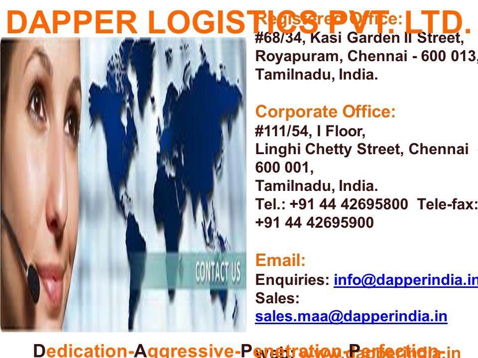DAPPER LOGISTICS PVT. LTD.