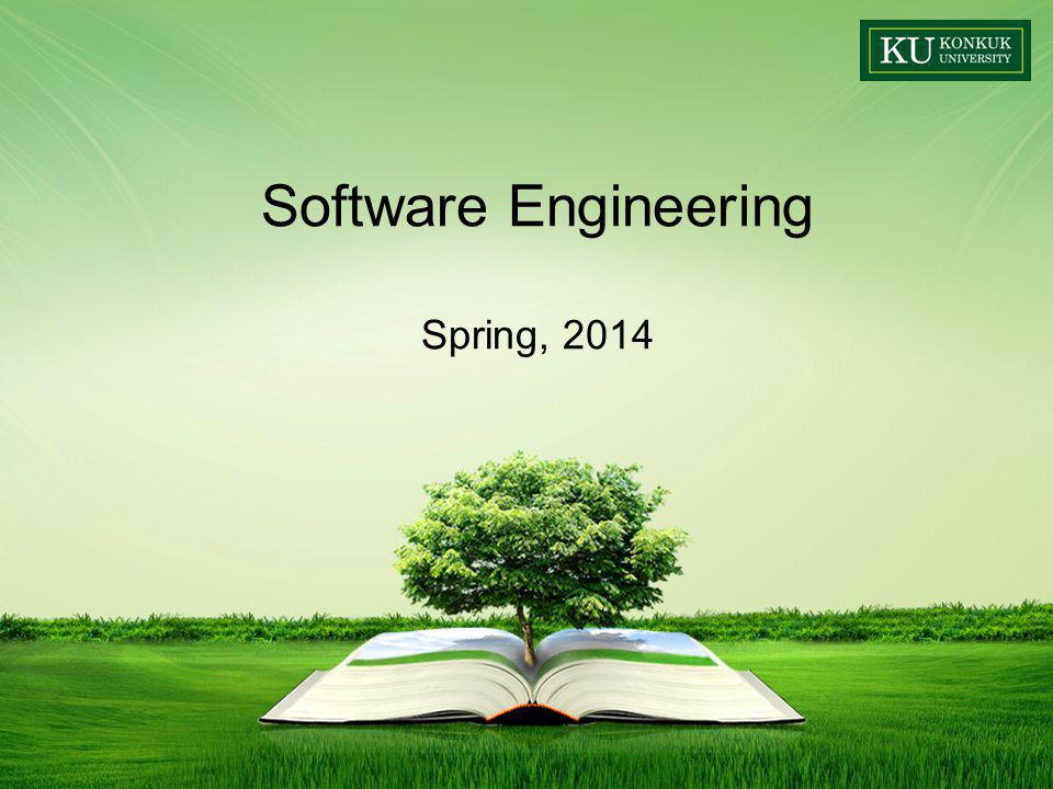 Software Engineering Spring, 2014