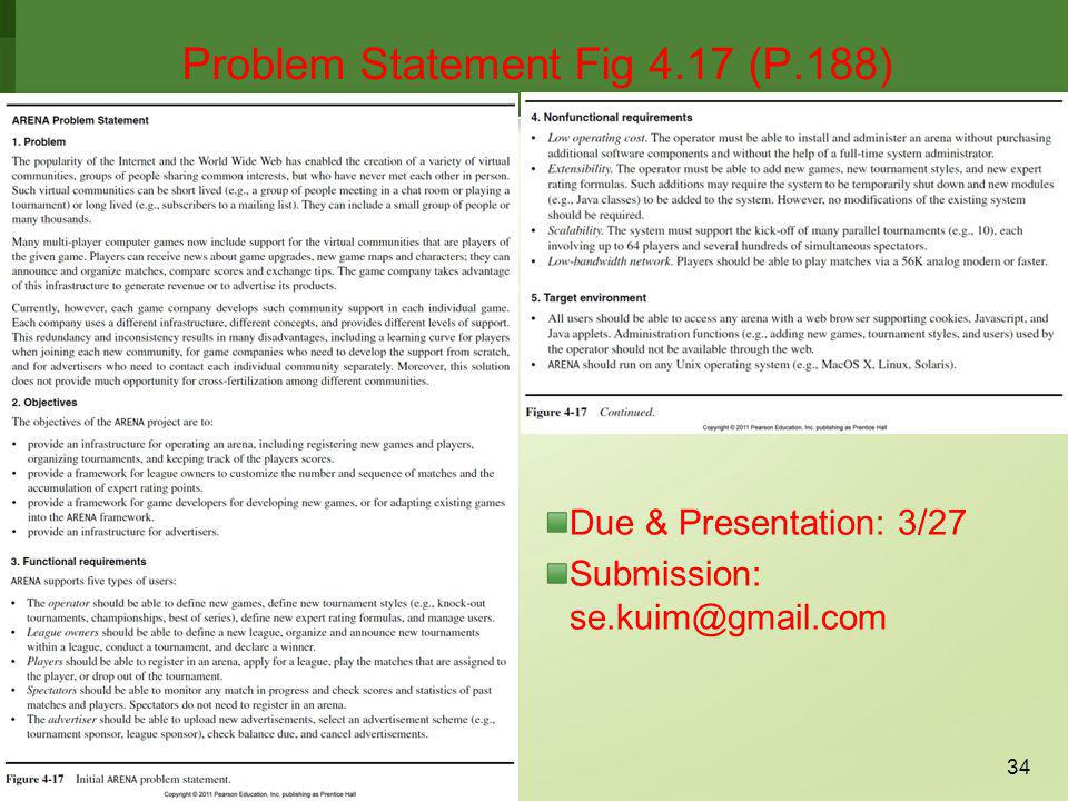 Problem Statement Fig 4.17 (P.188)