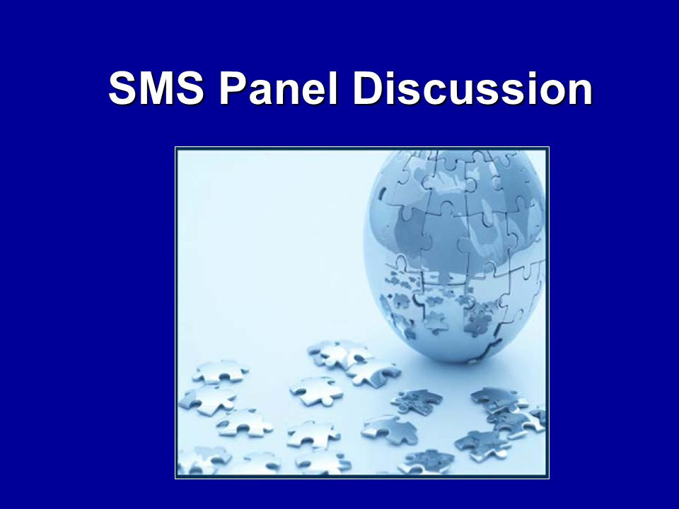 SMS Panel Discussion