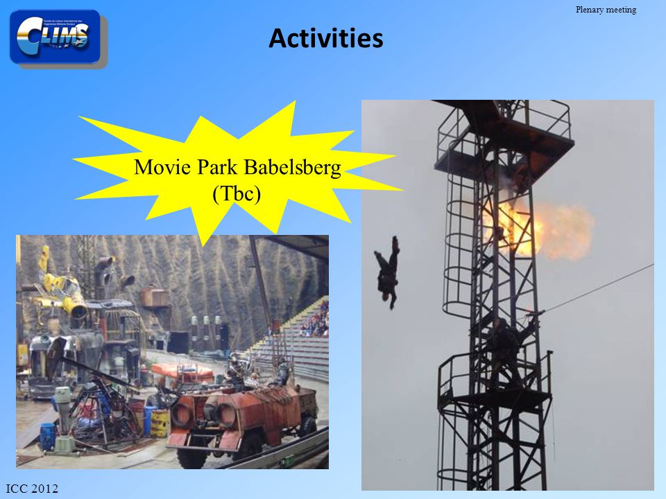 Activities Movie Park Babelsberg (Tbc)
