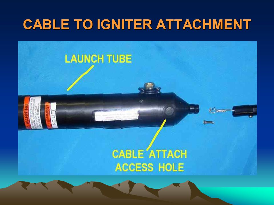 CABLE TO IGNITER ATTACHMENT