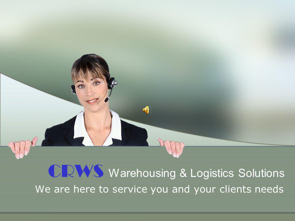 CRWS Warehousing & Logistics Solutions