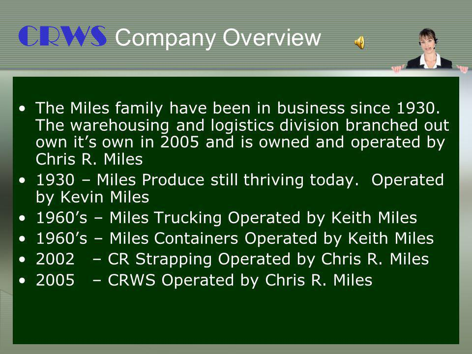 CRWS Company Overview
