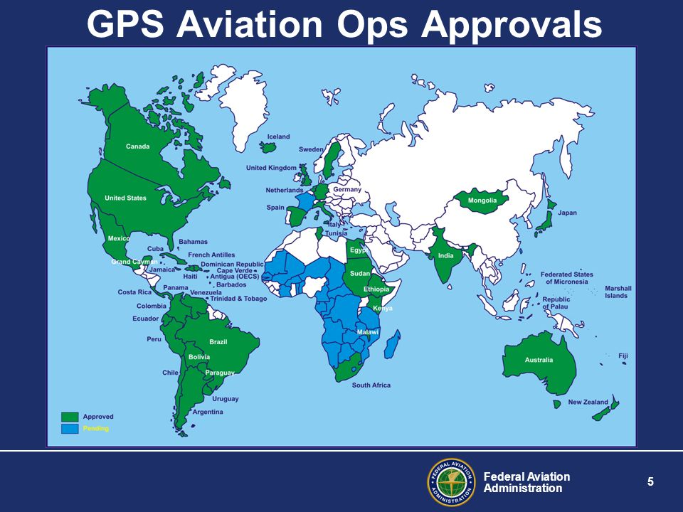 GPS Aviation Ops Approvals