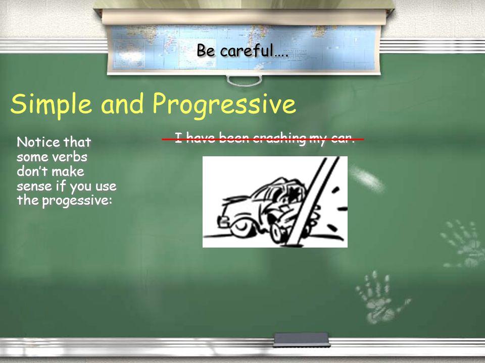 Simple and Progressive