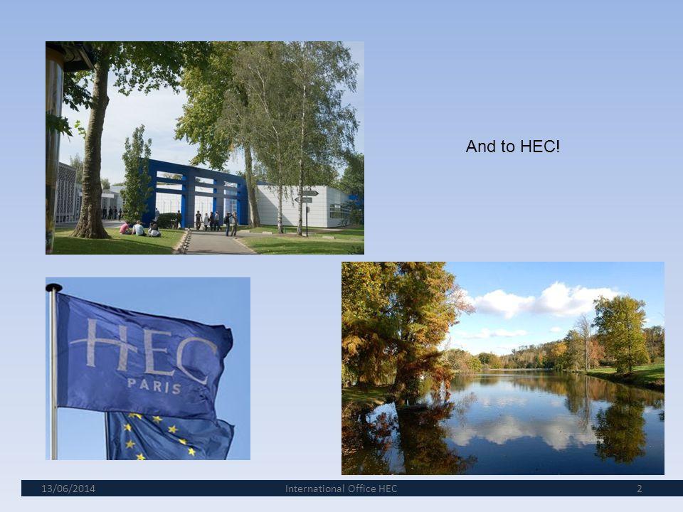 International Office HEC