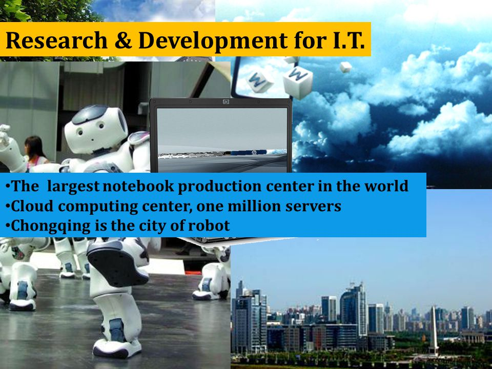 Research & Development for I.T.